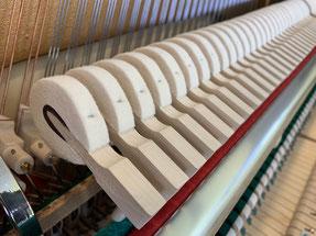 Piano - Hammerköpfe