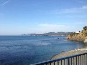 福井越前町の海岸線