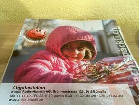 Aktion Weihnachtspäckli, Sammelstelle in Bümpliz