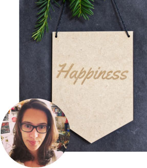 Personalised Wooden Banner & Christmas Baubles by ByPryorArrangement, featured in the PASiNGA curated Christmas artisan gift guide