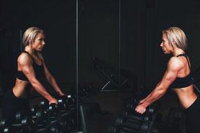 Trainingsschema trainingsschema's workout workoutschema afvallen triceps