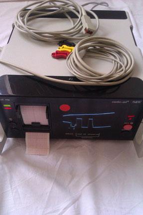 EKG Monitor Cardio-aid S&W für Medizin und Praxis