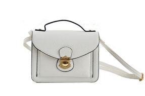 Weiße Handtasche für die Braut