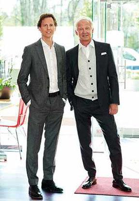 Florian Sieber mit Vater Michael Sieber