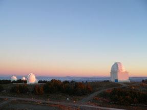Panorámica del Observatorio de Calar Alto. Fuente: Santos Pedraz (CAHA).