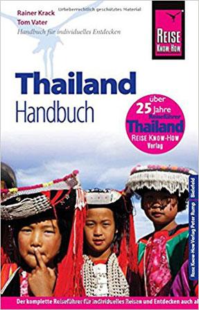 Cover des Reise Know How Reiseführers für Thailand.