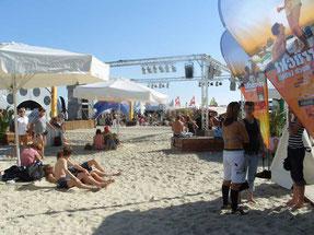 Beachflags, Pavillions, Sonnensegel, Banner, Fahnen für Events