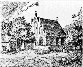 Dorfkirche Pankow, 1852