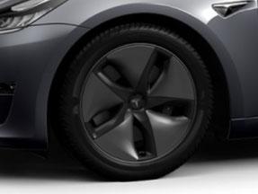 18-Zoll Aero Felge des Model 3 (Bild: Tesla)