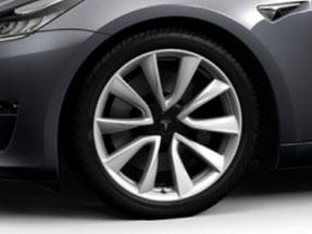 19-Zoll Sport Felge des Model 3 (Bild: Tesla)