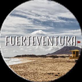 Kanarische Inseln Fuerteventura Flag Beach
