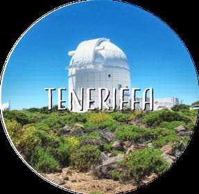 Kanarische Inseln Teneriffa Observatorium