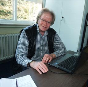 Musikpädagoge Wolfgang Kahl an der Kreismusikschule Osterode