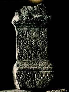 Stèle funéraire de l'époque romaine à Saint Bertrand de Comminges