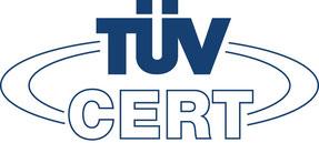 MartinBau - Logo TÜV CERT