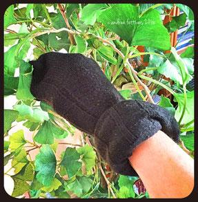 Socken eignen sich gut zum Putzen und staubwischen.