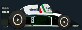 ANDREA de CESARIS by Muneta & Cerracín - Brabham BT56 - BMW L4 turbo