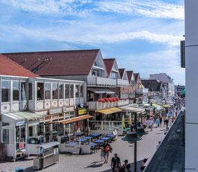 Borkum - Ferienwohnung im Haus Seeblick (App. 10II) mit Meerblick an der Strandpromenade in der Bismarckstraße 43