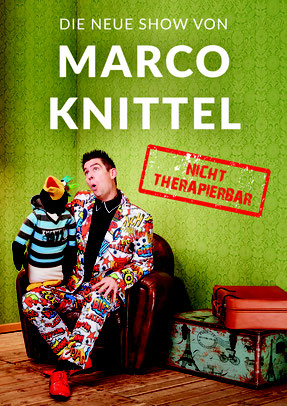 Marco Knittel Bauchredner Schweiz Pinguin Puppen Comedy Puppencomedy Musiccomedy Ostschweizer