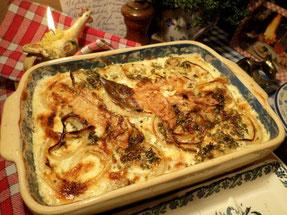 Gratin sans viande - Canal Gourmandises