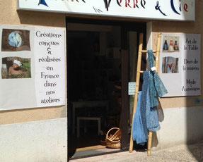 Boutique Terre, Verre et Cie à Ax les Thermes (09)