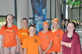 Badische Jugendmeisterschaften 2017 mit Jana,Lea, Emma,Sachi, Sinah und Sue Leonie in Freiburg