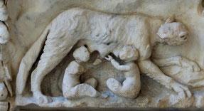 Romulus et Remus, les jumeaux gémeaux