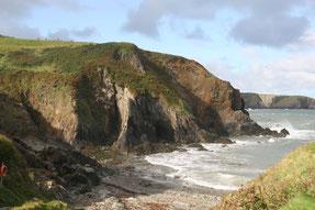 Wilde Küste im Pembrokeshire Coast Nationalpark