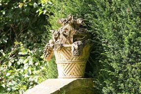 Skulptur im Hidcote Manor Gardens