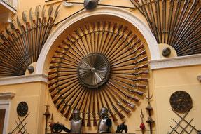 Beindruckende Waffensammlung im Inverary Castle