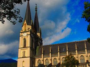 die gotische Kathdrale von Admont