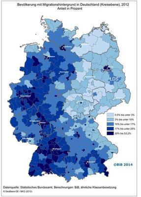 Bevölkerung mit Migrationshintergrund