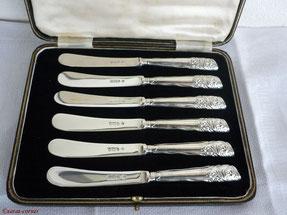 Antike Silber Teemesser aus England