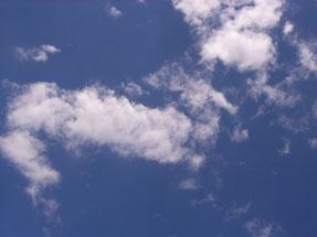 きょうの軽井沢の空です