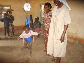 Marie Thérèse accueille maman et bébé