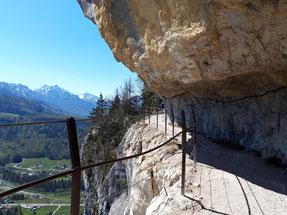 Ewige Wand bei BAd Goisern in der Region Dachstein Salzkammergut