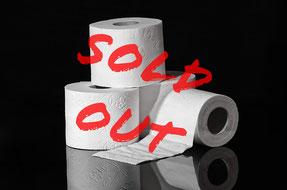 2020, das Jahr ohne Toilettenpapier im Regal.