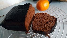 Gâteau chocolat clémentine