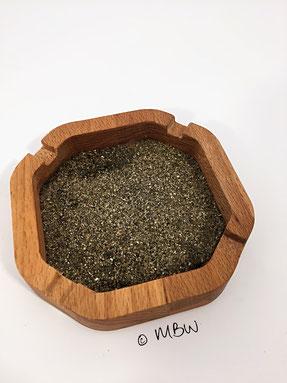 Aschenbecher aus Holz