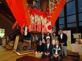 田川市石炭・歴史博物館にて安蘇館長を囲んで