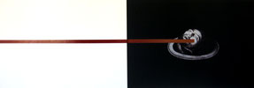 Andreas Horlitz, o.T., aus der Serie Lexikon, 1998, Ilfochrome Transparent, Edelstahl, © Nachlass: Kunstmuseum Ahlen, VG-Bildkunst, Bonn, 2019