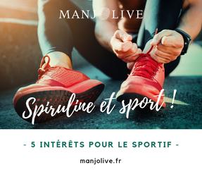 spiruline et sport : 5 intérêts pour le sportif