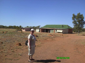 An der alten Telegraphenstation bei Tennant Creek
