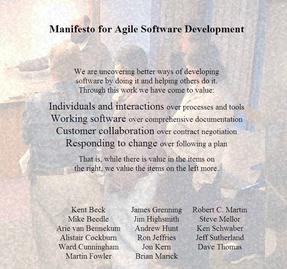 Bild: agilemanifesto.org