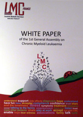 france livre blanc LMC White Paper General Assembly on CML chronic myeloid leukemia leucemie myeloide chronique