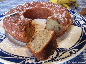 Cake Charlie's Mum au chocolat praliné, banane