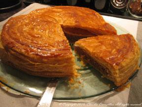 Galette feuilletée aux accents pain d'épices