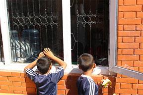 The children's homes