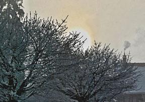 13. Februar 2015 - Kalt und warm