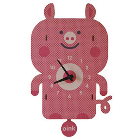 gift, home, decor, baby, boutique, store, shop, kids, beach, house, shower, present, clock, room,  pig, farm, barn yard, country